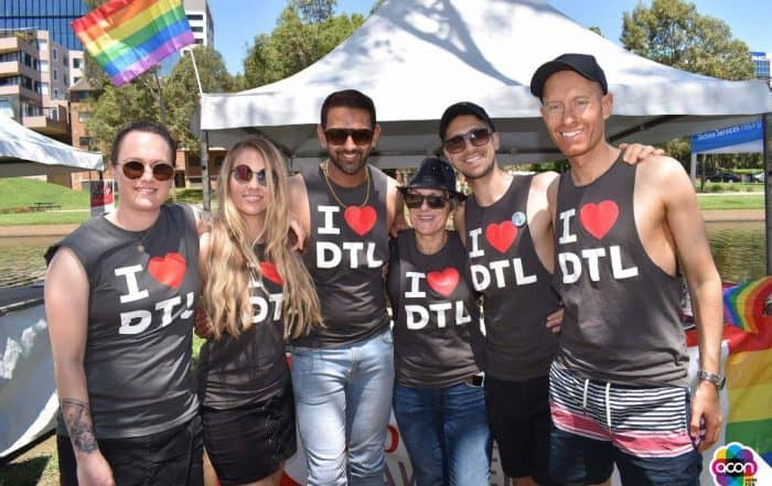 DTL lawyers in line up at Parramatta Pride
